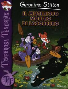 Il misterioso mostro di Lagoscuro - Geronimo Stilton - copertina