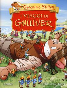 I viaggi di Gulliver di Jonathan Swift - Geronimo Stilton - copertina