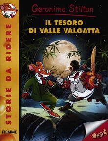 Il tesoro di valle Valgatta - Geronimo Stilton - copertina