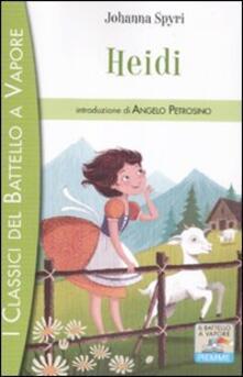 Heidi - Johanna Spyri - copertina