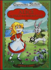 Alice nel paese delle meraviglie. Con App per tablet e smartphone. Ediz. illustrata - Geronimo Stilton - copertina