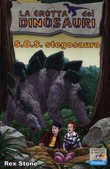 S.O.S. stegosauro - Rex Stone - copertina
