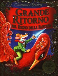 Grande ritorno nel Regno della Fantasia - Geronimo Stilton - copertina