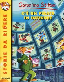 C'è un pirata in internet - Geronimo Stilton - copertina
