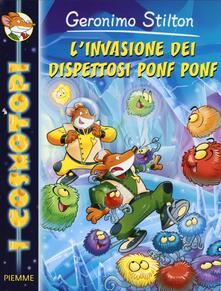 L' invasione dei dispettosi Ponf Ponf - Geronimo Stilton - copertina