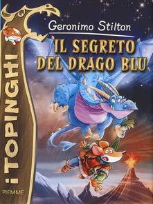 Il segreto del drago blu. Ediz. illustrata - Geronimo Stilton - copertina