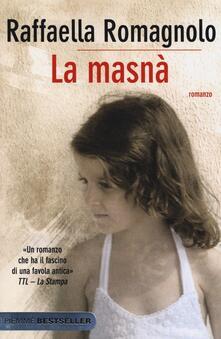 La masnà - Raffaella Romagnolo - copertina