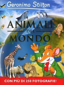 Animali del mondo - Geronimo Stilton - copertina