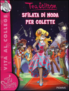 Sfilata di moda per Colette - Tea Stilton - copertina