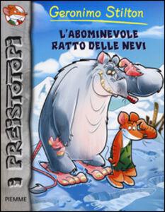 Foto Cover di L' abominevole ratto delle nevi, Libro di Geronimo Stilton, edito da Piemme