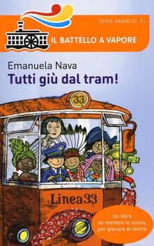 Tutti giù dal tram! - Emanuela Nava - copertina