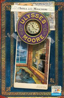 L' isola delle maschere - Ulysses Moore - copertina