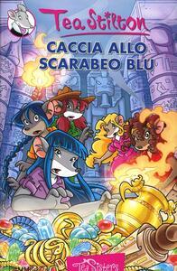 Caccia allo scarabeo blu - Tea Stilton - copertina