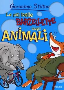Le più belle barzellette sugli animali - Geronimo Stilton - copertina