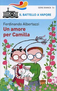 Un amore per Camilla - Ferdinando Albertazzi - copertina