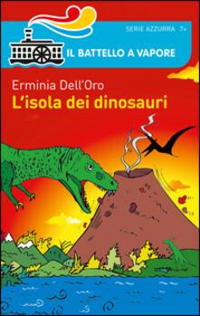 L' isola dei dinosauri - Erminia Dell'Oro - copertina