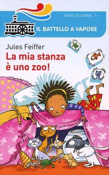 La mia stanza è uno zoo! - Jules Feiffer - copertina