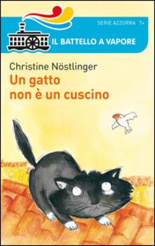 Un gatto non è un cuscino - Christine Nöstlinger - copertina