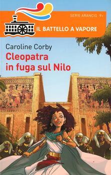 Cleopatra e la fuga sul Nilo - Caroline Corby - copertina