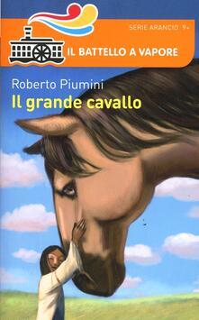 Il grande cavallo - Roberto Piumini - copertina