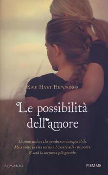 Le possibilità dell'amore - Kaui H. Hemmings - copertina