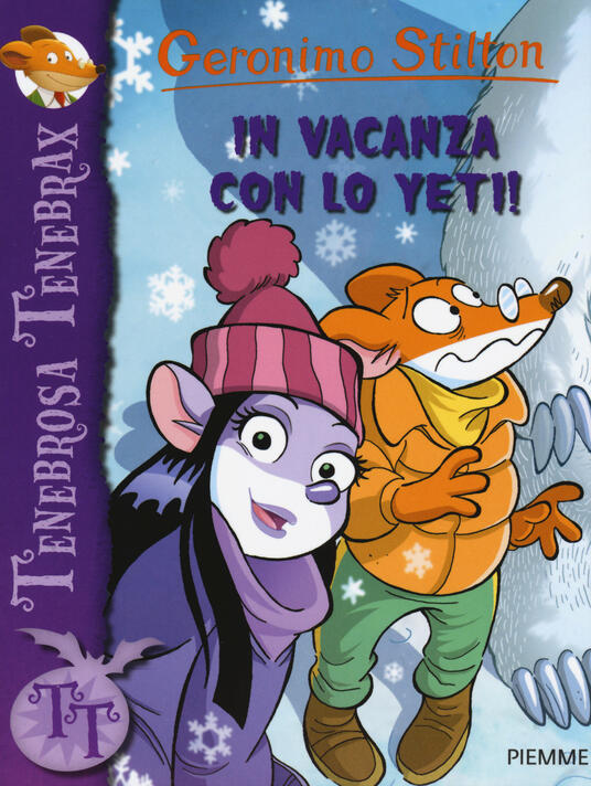 In vacanza con lo Yeti! - Geronimo Stilton - copertina