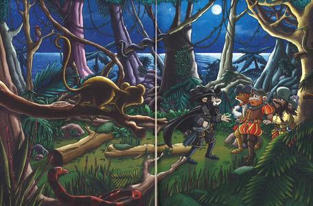 Libro Le avventure del Corsaro Nero di Emilio Salgari Geronimo Stilton 1