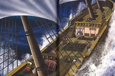 Libro Le avventure del Corsaro Nero di Emilio Salgari Geronimo Stilton 3