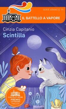 Scintilla - Cinzia Capitanio - copertina