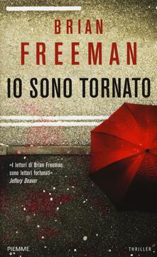Io sono tornato - Brian Freeman - copertina