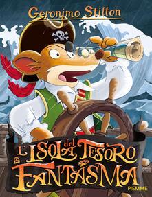 L' isola del tesoro fantasma - Geronimo Stilton - copertina
