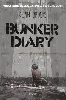 Bunker diary - Kevin Brooks - copertina