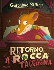 Ritorno a Rocca Taccagna - Geronimo Stilton - copertina