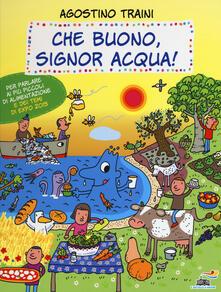 Che buono, signor Acqua! - Agostino Traini - copertina