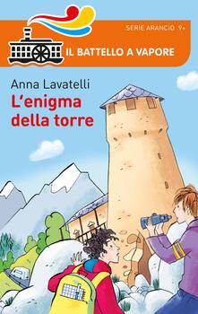 L' enigma della torre - Anna Lavatelli - copertina