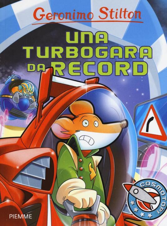 Una turbogara da record - Geronimo Stilton - copertina