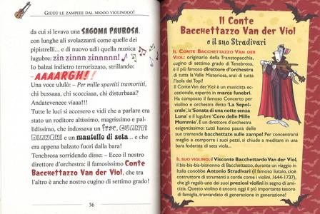 Libro Il mistero del violino scomparso Geronimo Stilton 2