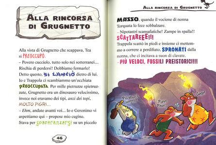 Libro Timidosauri in cerca di casa Geronimo Stilton 3