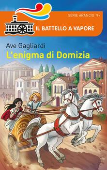 L' enigma di Domizia - Ave Gagliardi - copertina