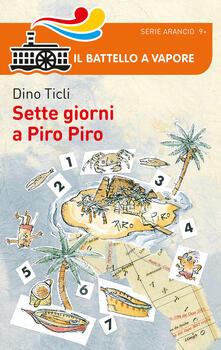 Sette giorni a Piro Piro - Dino Ticli - copertina