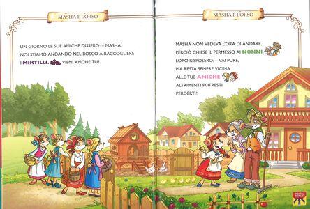 Libro La storia di Masha e l'orso. Con App per tablet e smartphone. Ediz. illustrata Geronimo Stilton 2