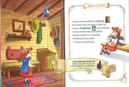 Libro La storia di Masha e l'orso. Con App per tablet e smartphone. Ediz. illustrata Geronimo Stilton 3