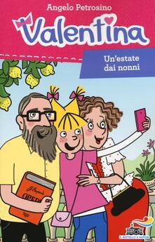 Un' estate dai nonni - Angelo Petrosino - copertina