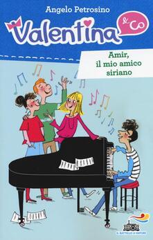 Amir, il mio amico siriano - Angelo Petrosino - copertina