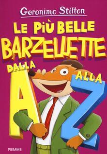 Le più belle barzellette dalla A alla Z - Geronimo Stilton - copertina