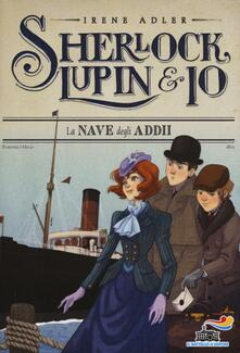 La nave degli addii - Irene Adler - copertina