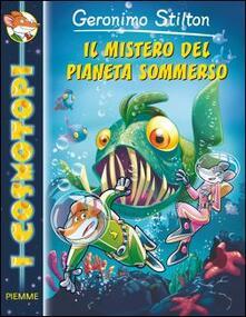 Il mistero del pianeta sommerso - Geronimo Stilton - copertina