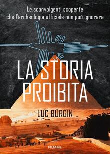 La storia proibita - Luc Bürgin - copertina
