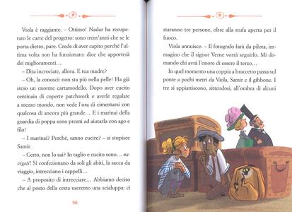 Libro Il ritratto della felicità. Viola giramondo. Vol. 3 Teresa Radice , Stefano Turconi 3