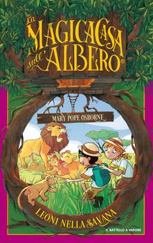 Leoni della savana - Mary P. Osborne - copertina